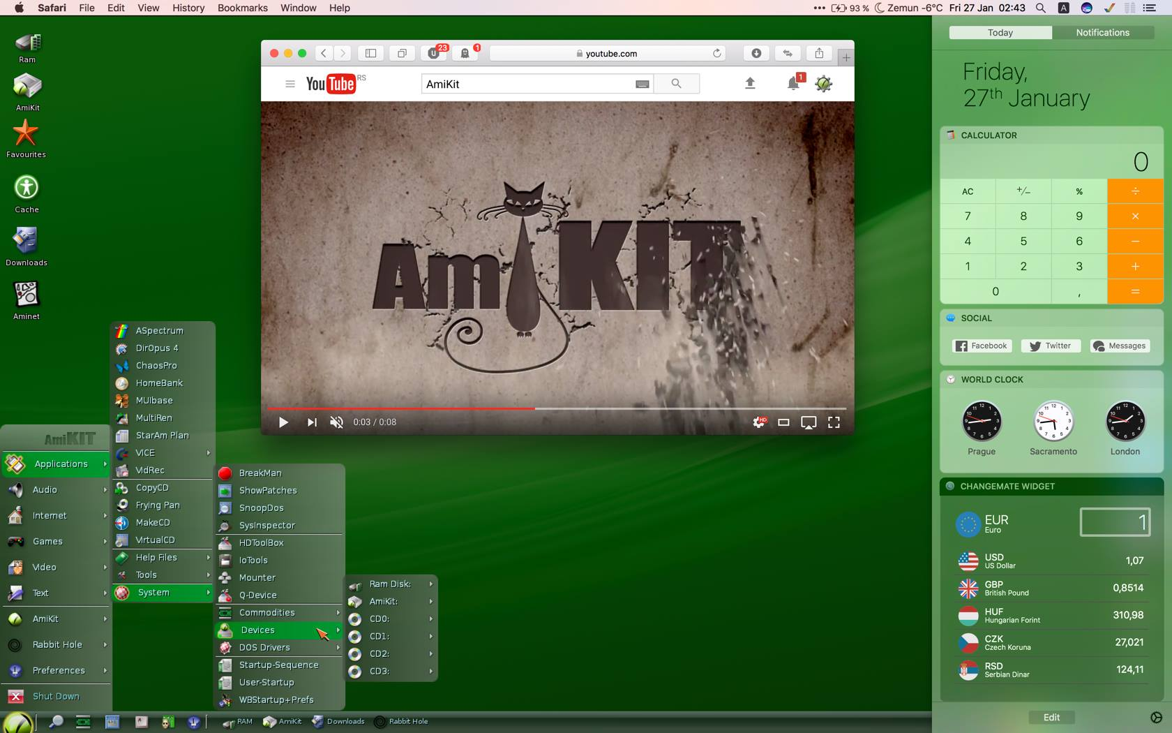 FREE DOWNLOAD of AmiKit 9